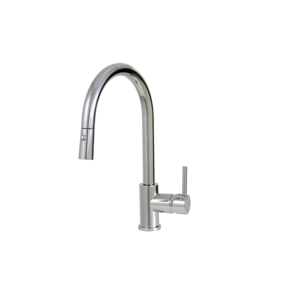 Aquabrass Pull Down Faucet Kitchen Faucets item ABFK3445NPC