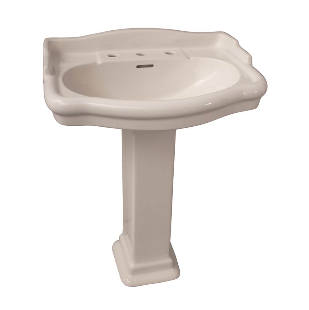 Barclay Complete Pedestal Bathroom Sinks item 3-848BQ