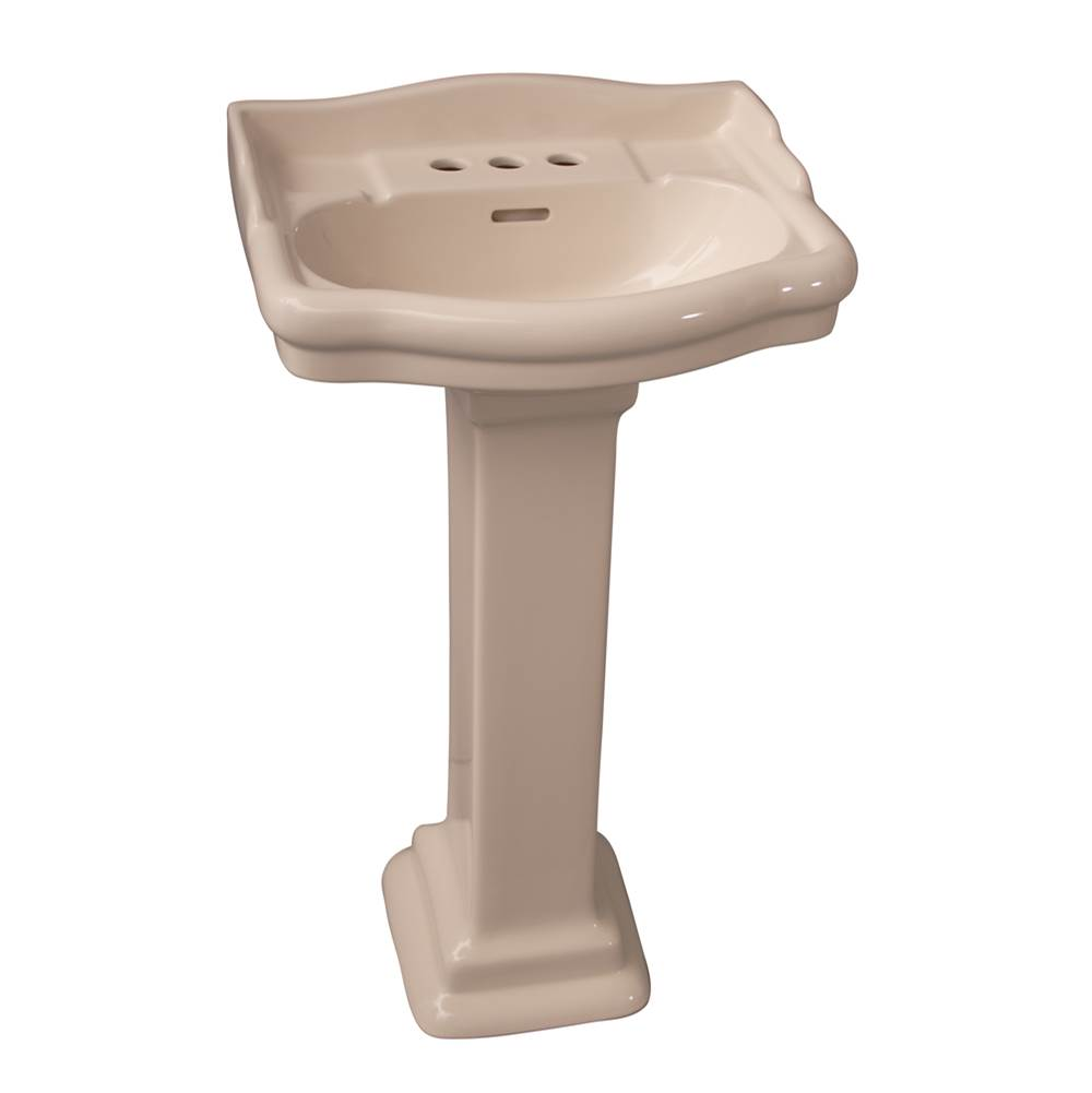 Barclay Complete Pedestal Bathroom Sinks item 3-876BQ