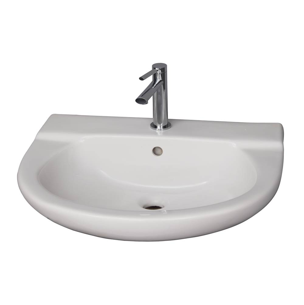 Barclay Wall Mount Bathroom Sinks item 4-111WH