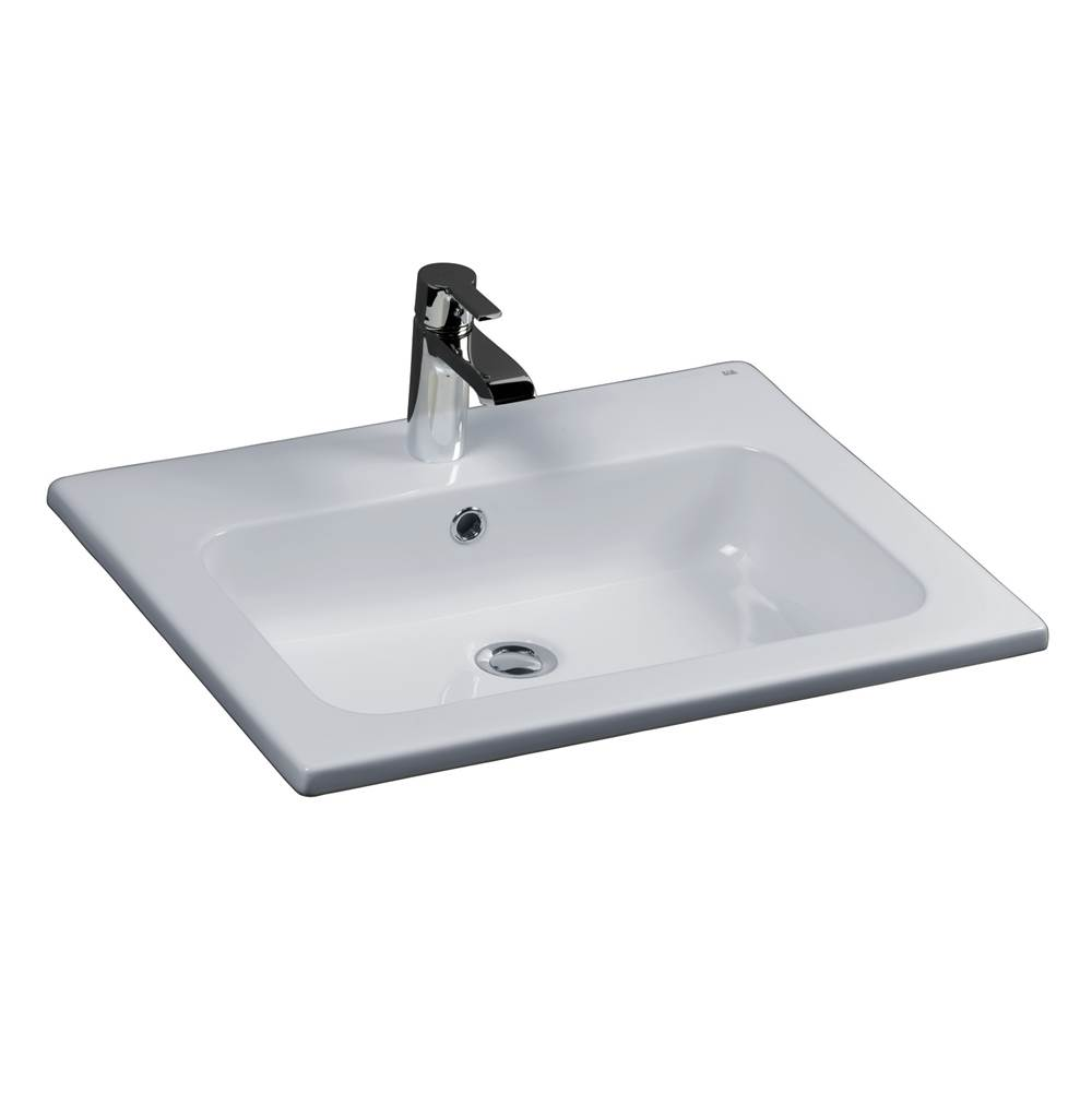 Barclay Drop In Bathroom Sinks item 4-151WH