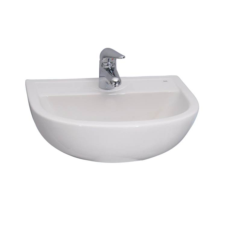 Barclay Wall Mount Bathroom Sinks item 4-611WH
