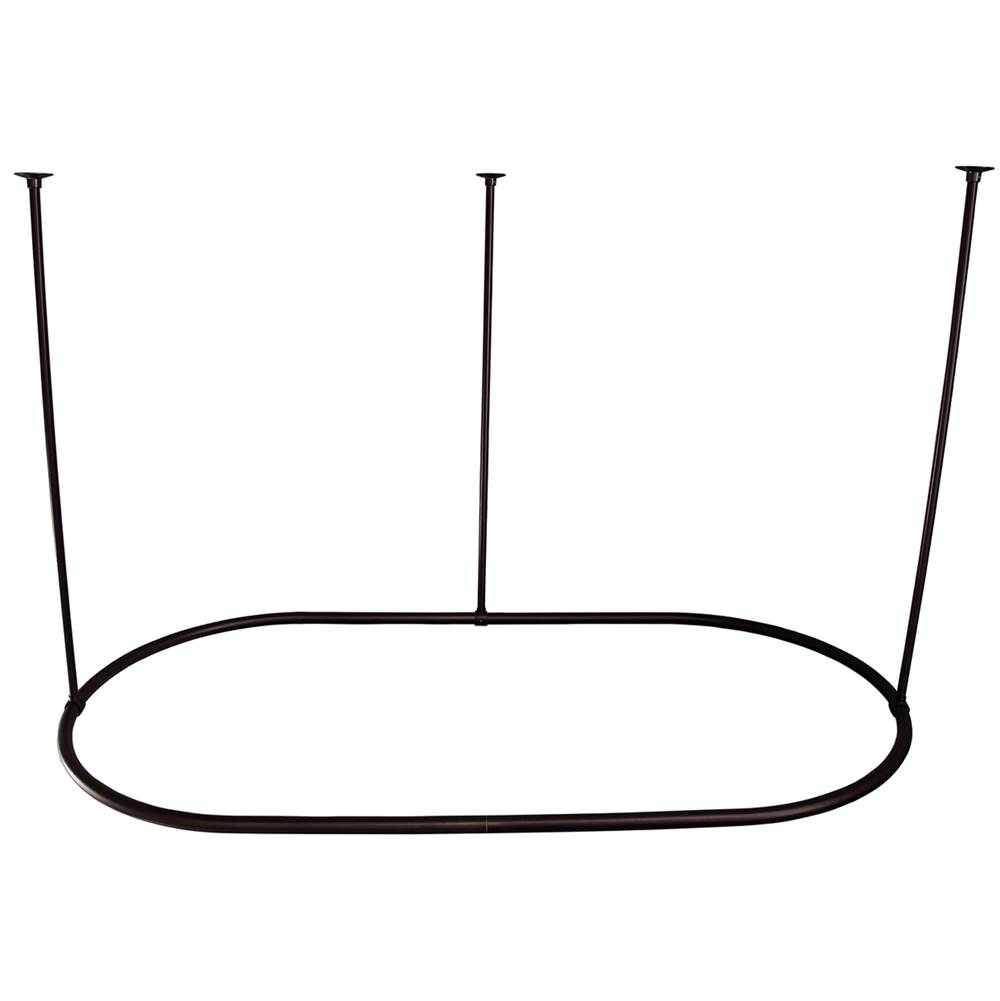 Orb Shower Curtain Rod.Barclay 7152 60 Orb At Russell Hardware Plumbing Hardware Showroom