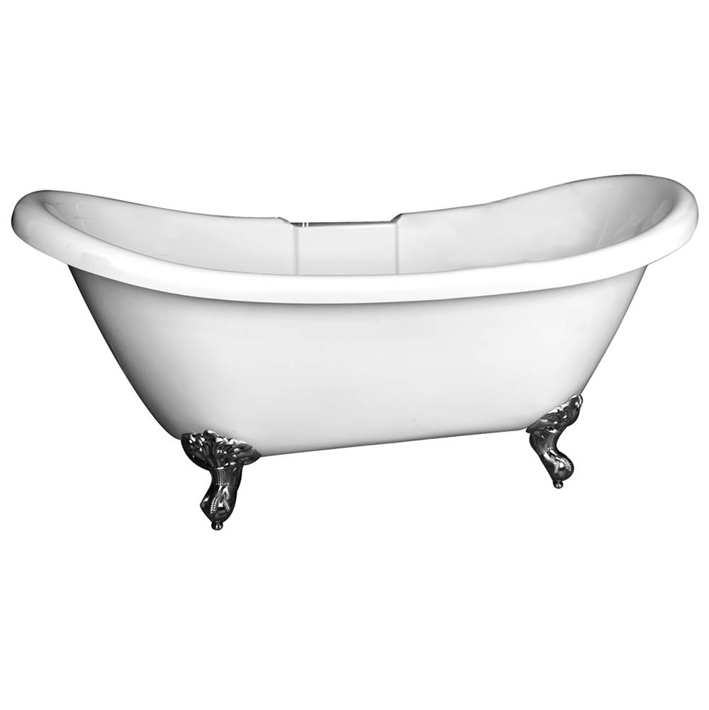 Barclay Clawfoot Soaking Tubs item ADSNTD63I-WH-BN