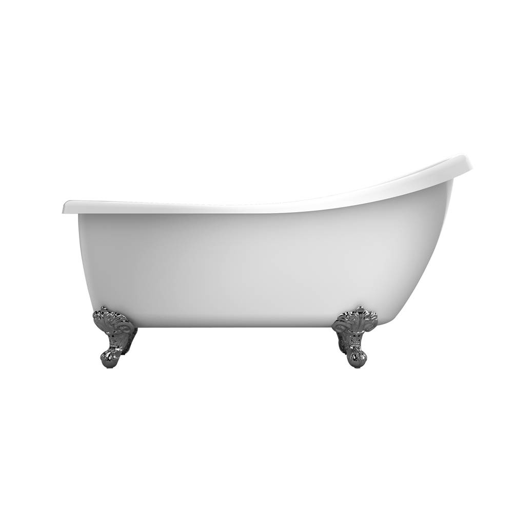 Barclay Clawfoot Soaking Tubs item ATSNTD61I-WH-PB