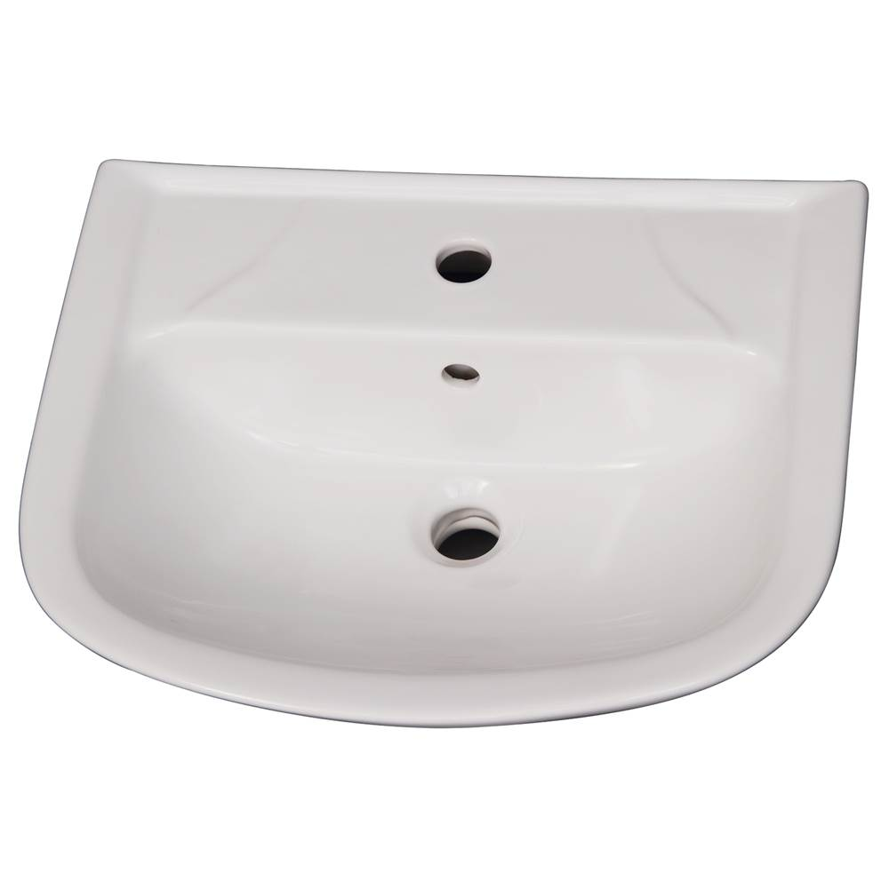 Barclay Complete Pedestal Bathroom Sinks item B/3-121WH