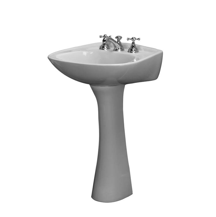 Barclay Complete Pedestal Bathroom Sinks item B/3-318WH