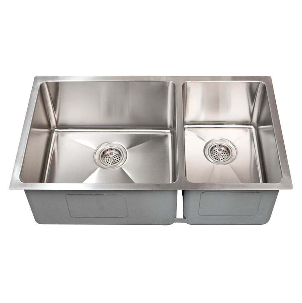 Barclay Undermount Kitchen Sinks item KSSDB2574-SS