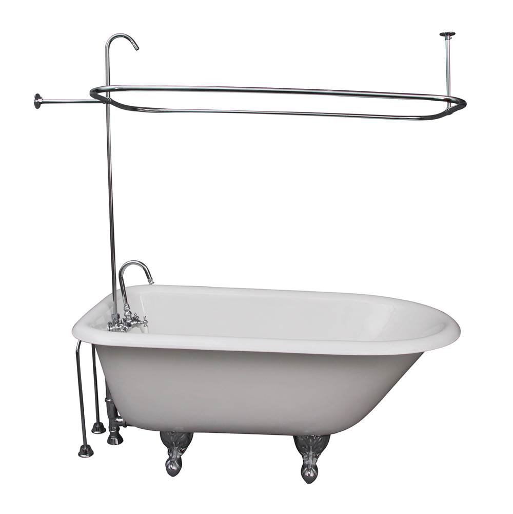 Barclay Clawfoot Soaking Tubs item TKCTRH54-CP1