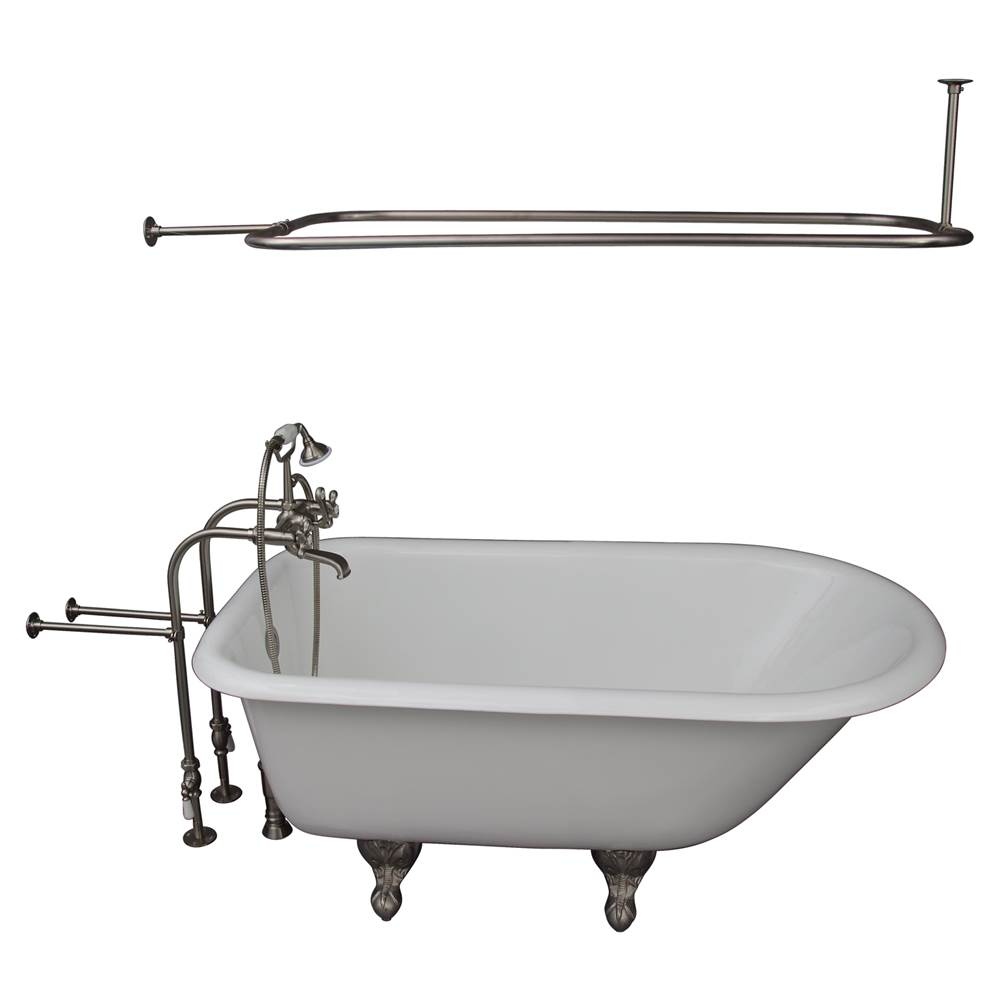 Barclay Clawfoot Soaking Tubs item TKCTRN54-SN4