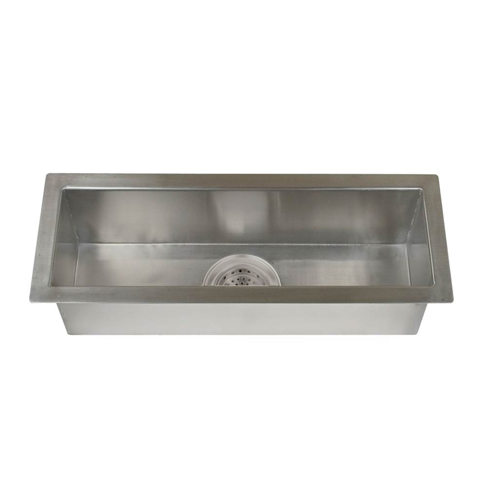Barclay Lavatory Console Bathroom Sinks item TSSSB2128-SS