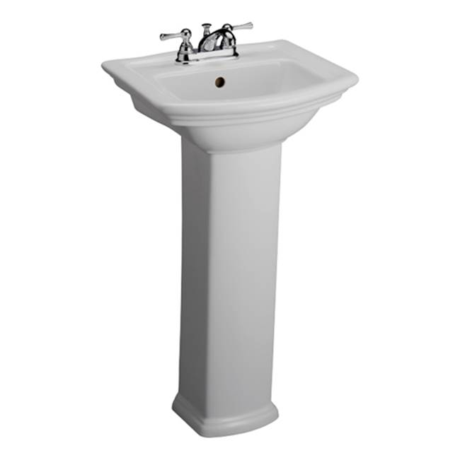 Barclay Complete Pedestal Bathroom Sinks item B/3-388WH