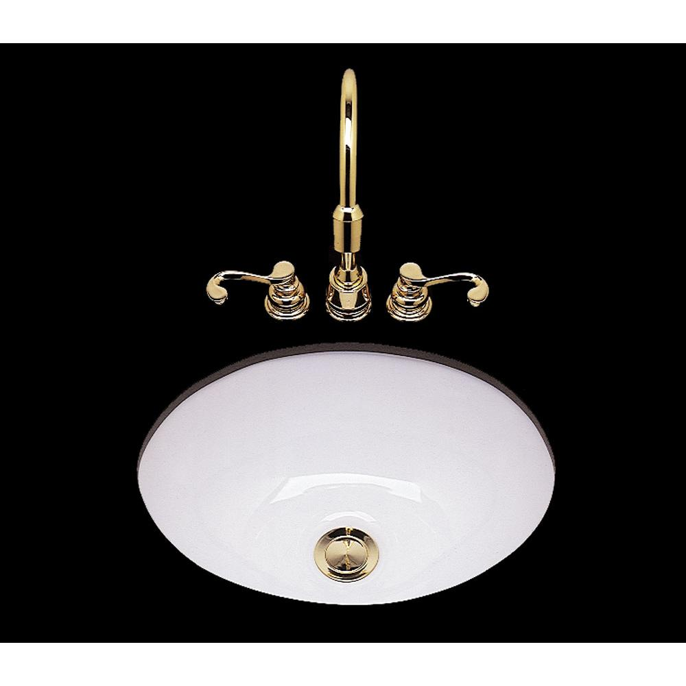 Bates And Bates Drop In Bathroom Sinks item P1013.D2.BK