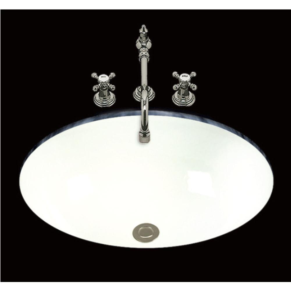Bates And Bates Undermount Bathroom Sinks item P1419.U.BK