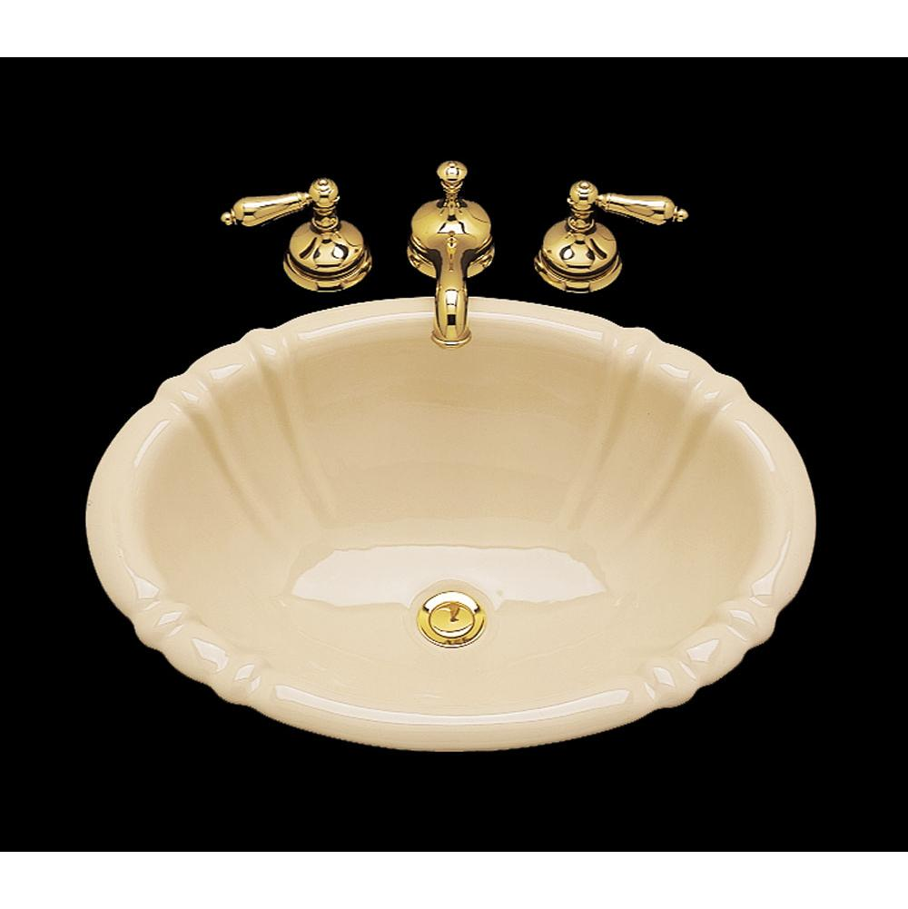 Bates And Bates Drop In Bathroom Sinks item P1721.D.WH