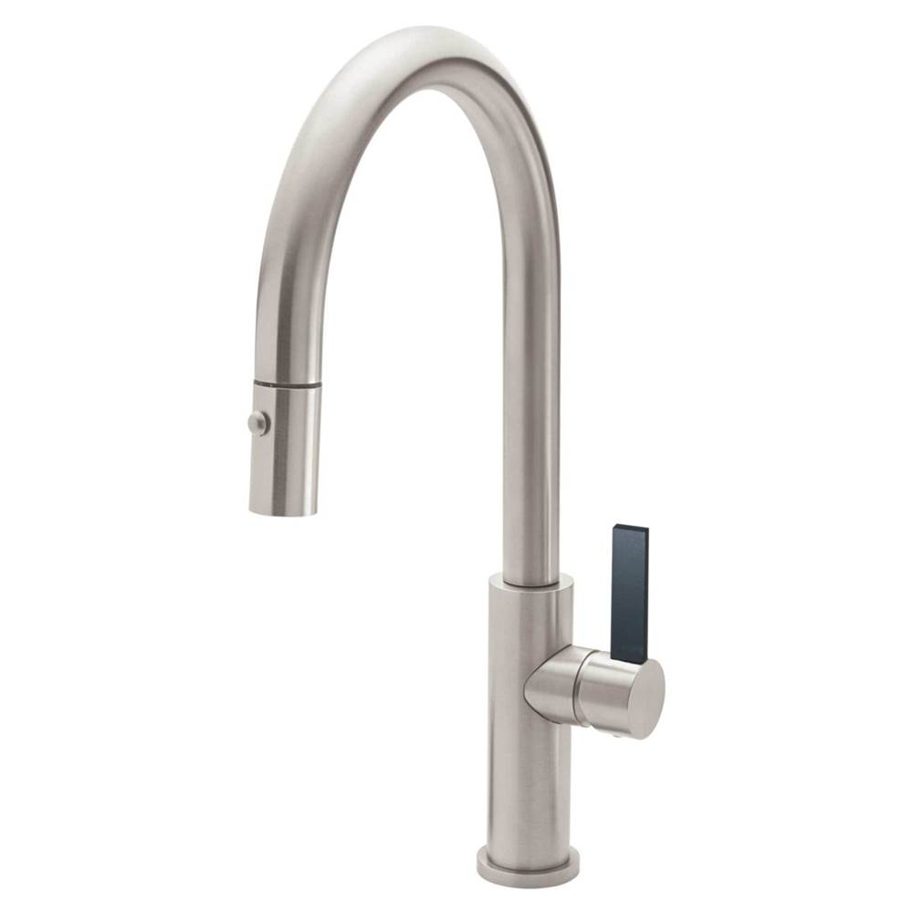 California Faucets Pull Down Faucet Kitchen Faucets item K51-100-BFB -MWHT