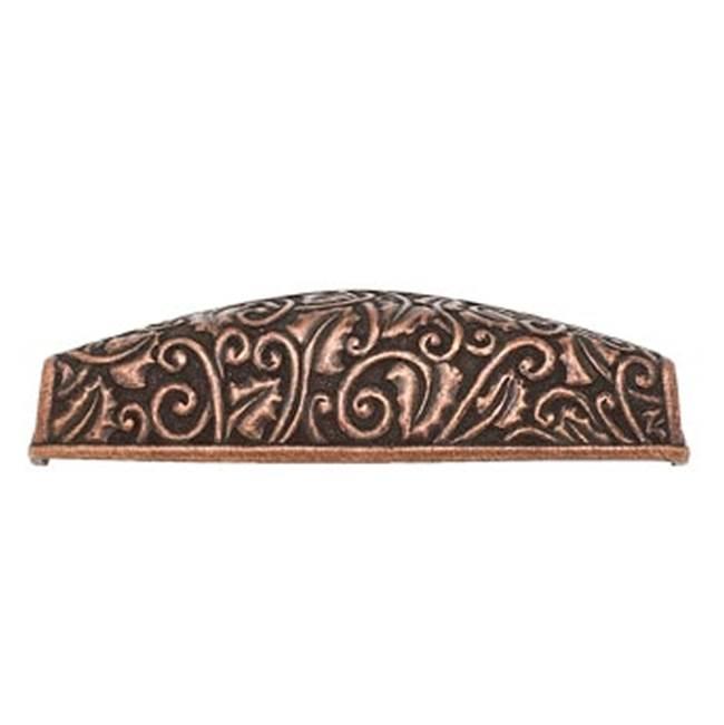 Antique Copper Vicenza Designs K1123 Ariosto Decorative Knob Small