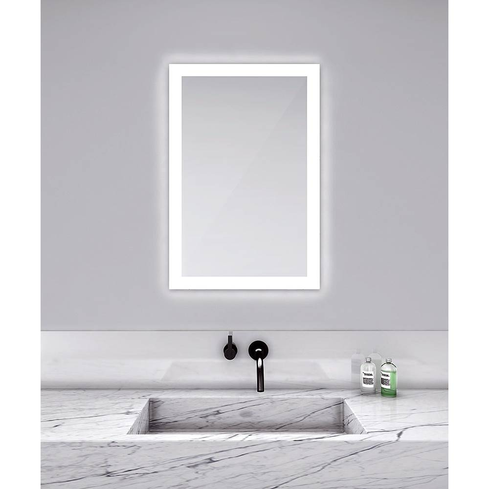 Electric Mirror Electric Lighted Mirrors Mirrors item SIL3030-DC-DF
