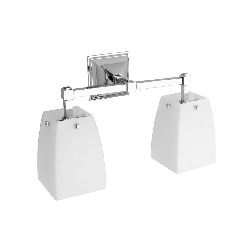 Ginger Two Light Vanity Bathroom Lights item 1882D/SN