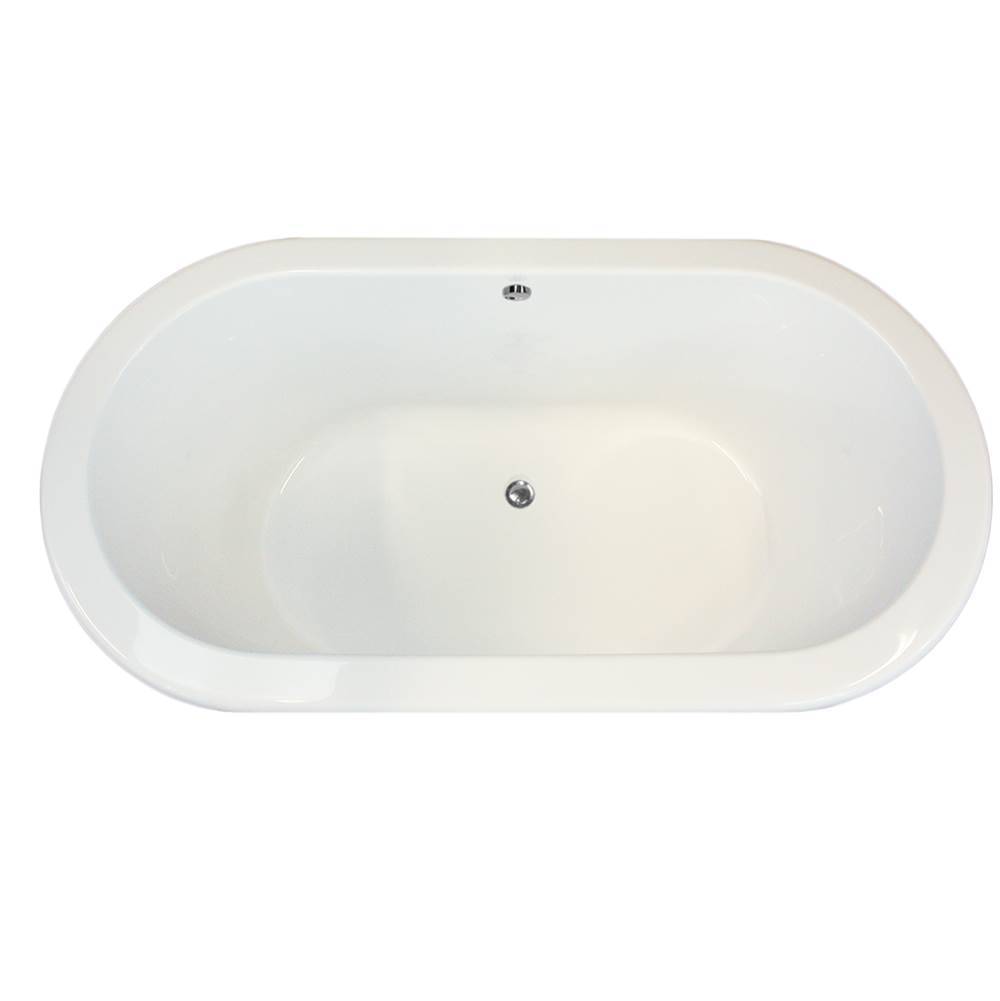 Hydro Systems Drop In Soaking Tubs item PAL7036ATO-WHI