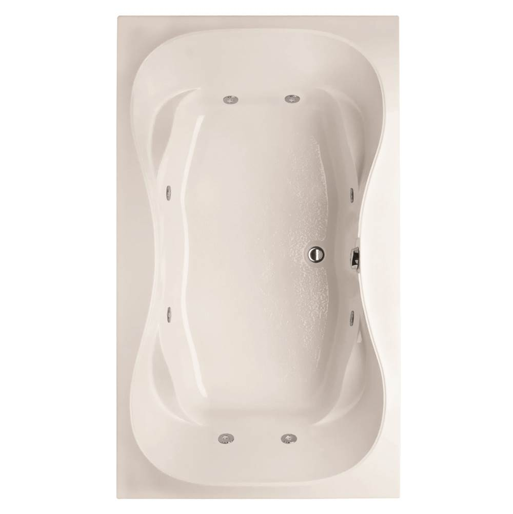 Hydro Systems Drop In Whirlpool Bathtubs item SHG7242AWP-WHI
