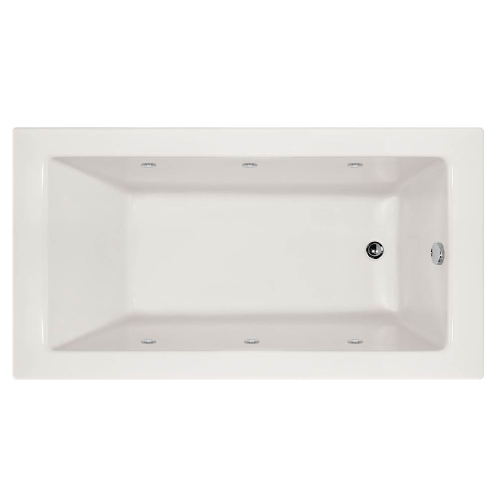 Hydro Systems Drop In Whirlpool Bathtubs item SYD6632AWP-WHI-RH