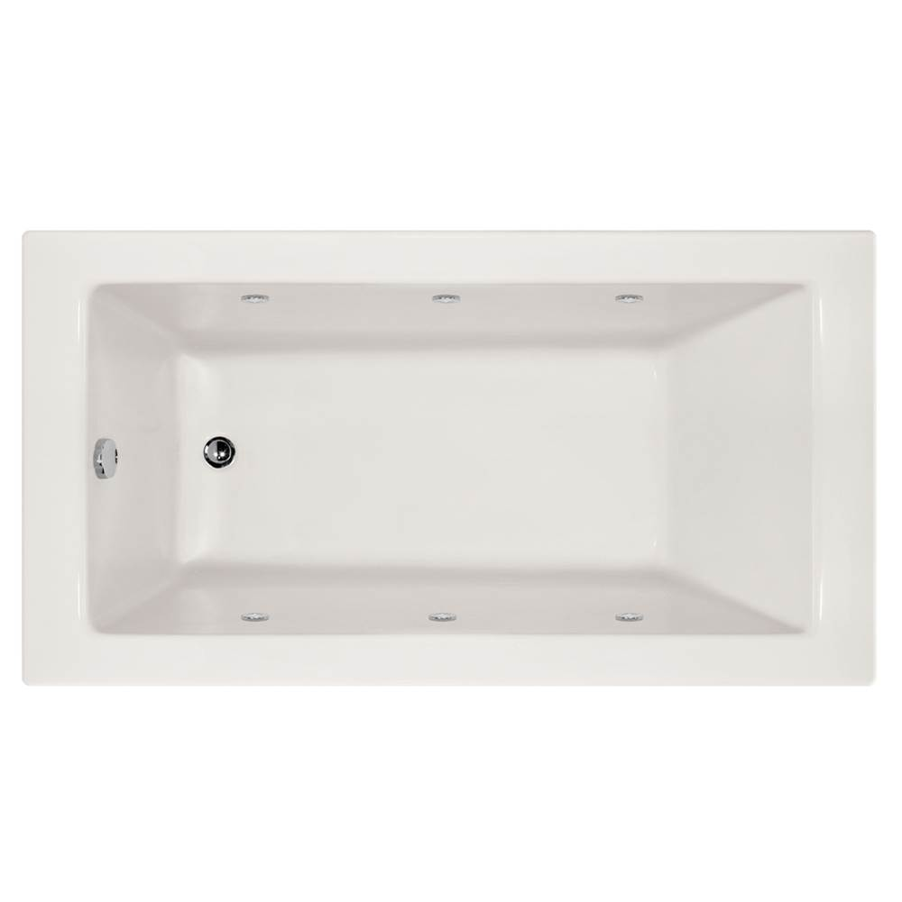 Hydro Systems Drop In Whirlpool Bathtubs item SYD7232AWP-WHI-LH