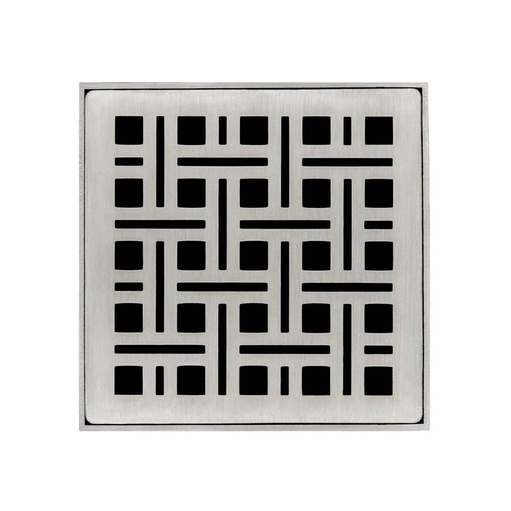 Infinity Drain Drain Covers Shower Drains item VS 4 SS