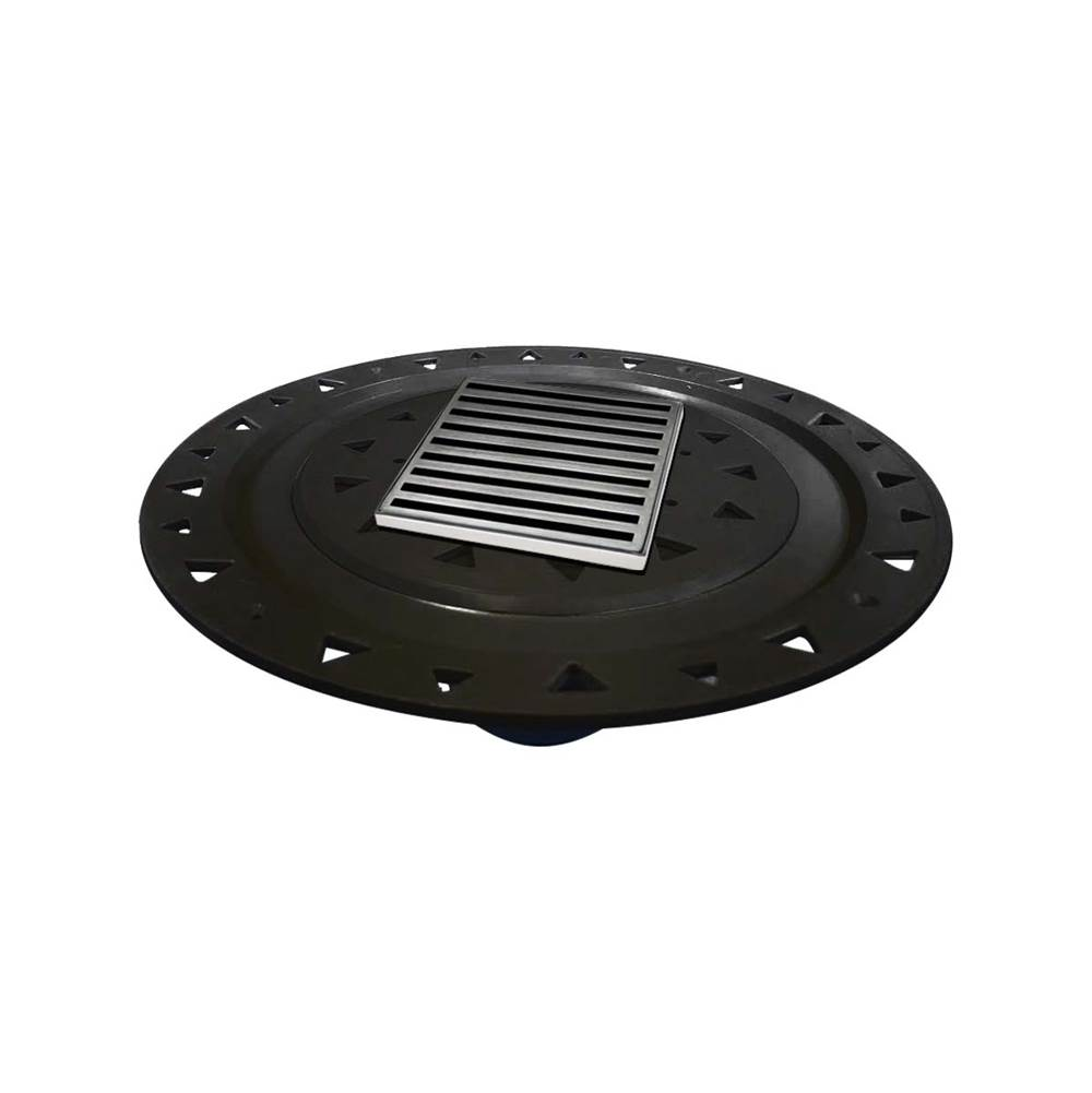 Infinity Drain Flanged Commercial Drainage item NDB 4-A SS