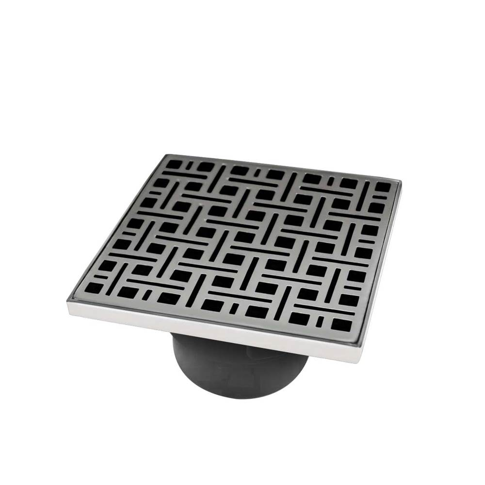Infinity Drain  Shower Drains item VD 5-2P SS