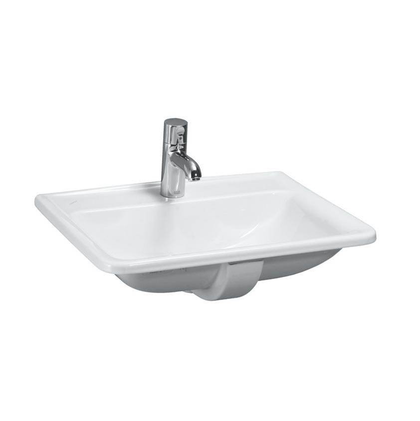 Laufen Drop In Bathroom Sinks item 8.1396.1.000.104.1