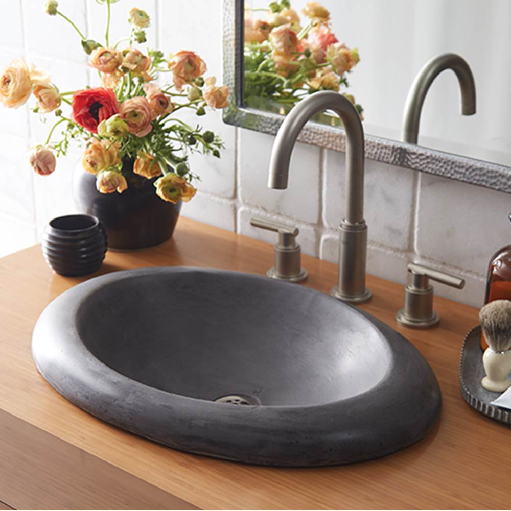 Native Trails   NSL2115 S   Cuyama Bathroom Sink In Slate