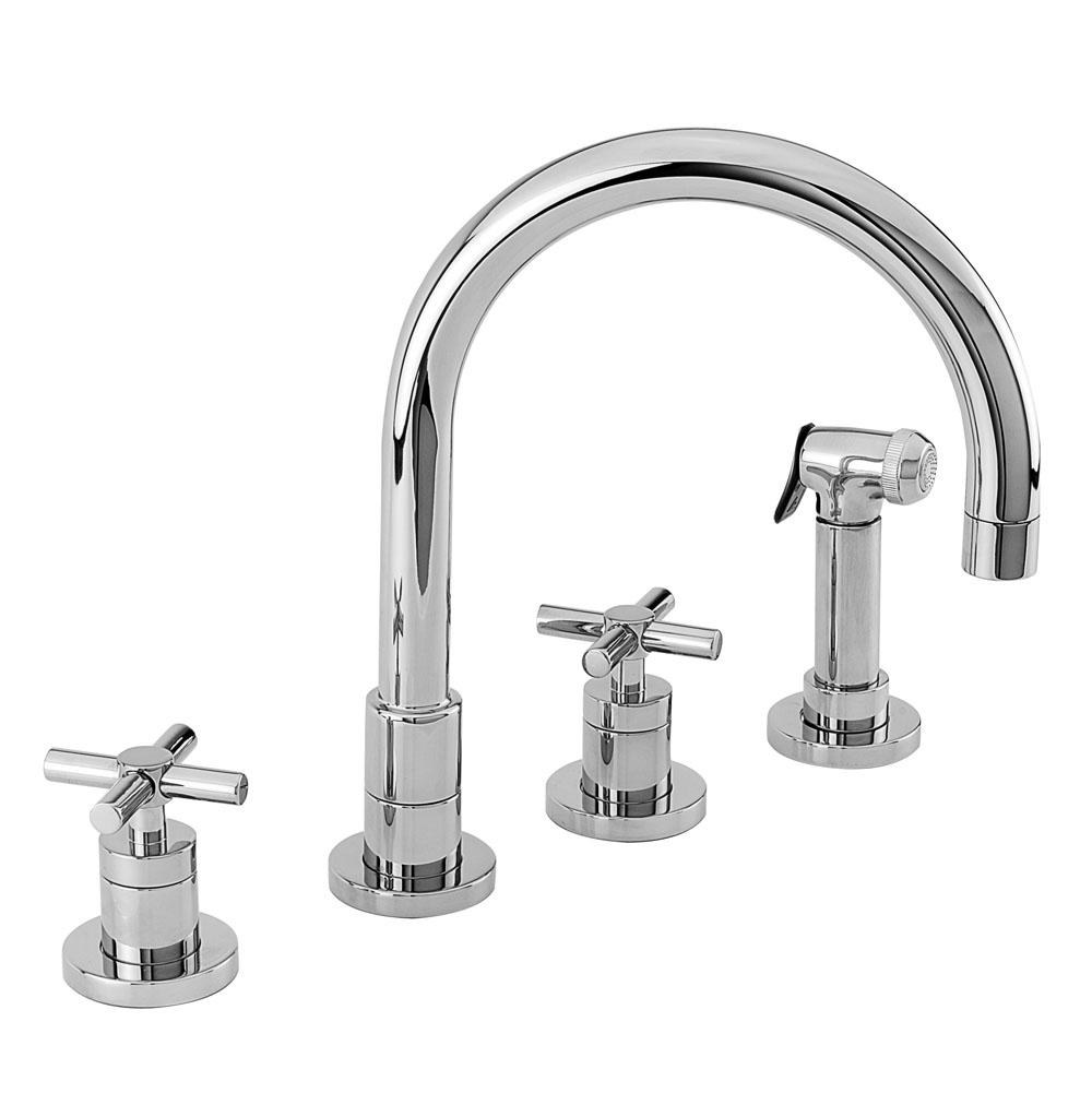 Newport Brass Deck Mount Kitchen Faucets item 9911/03W