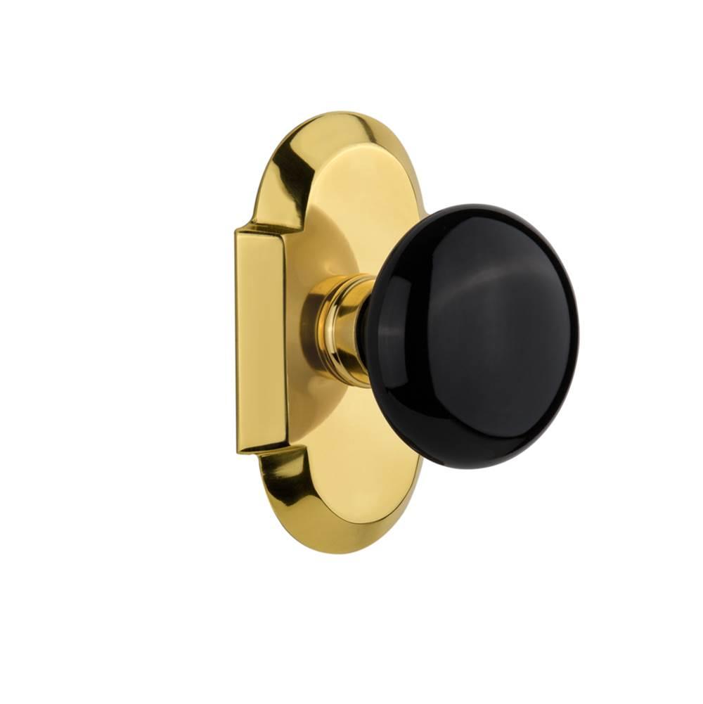 Decorating door knob brands photographs : Interior Door Now cotblk 10 nk pb | Russell Hardware - Plumbing ...