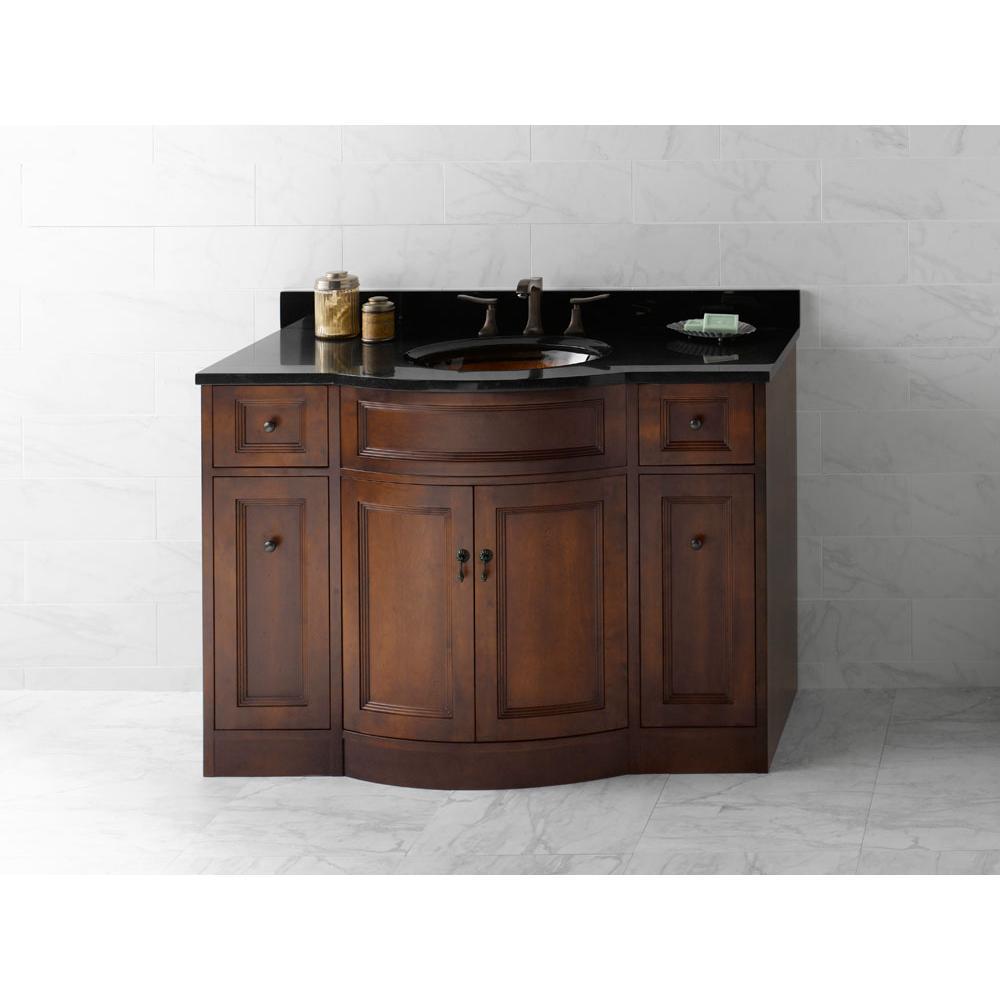 Ronbow 060648 F13 48 Marcello Bathroom Vanity Cabinet Base In Café Walnut
