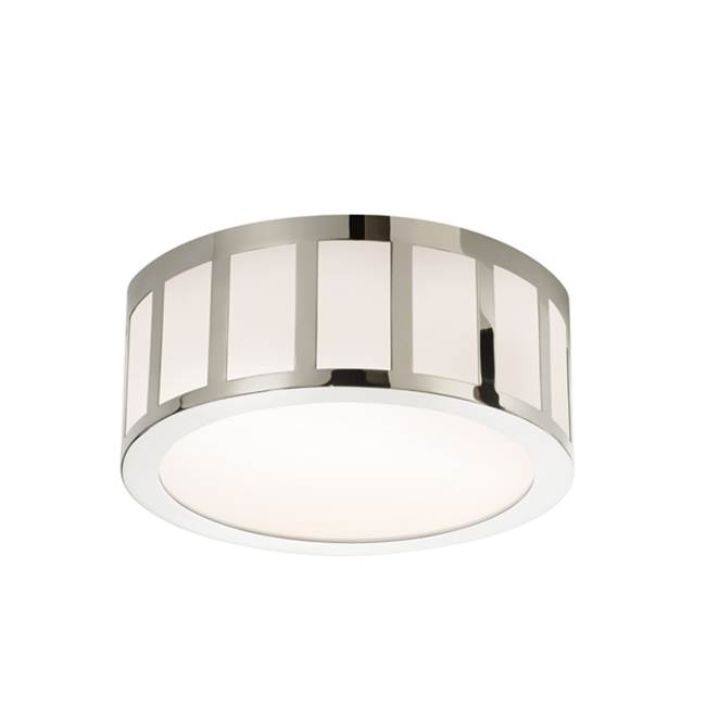 58000 252535 Brand Sonneman 12 LED Round Surface Mount Polished Nickel Flush Lighting