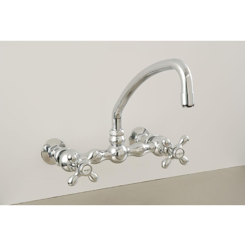 Sign Of The Crab Wall Mount Kitchen Faucets item P0836N