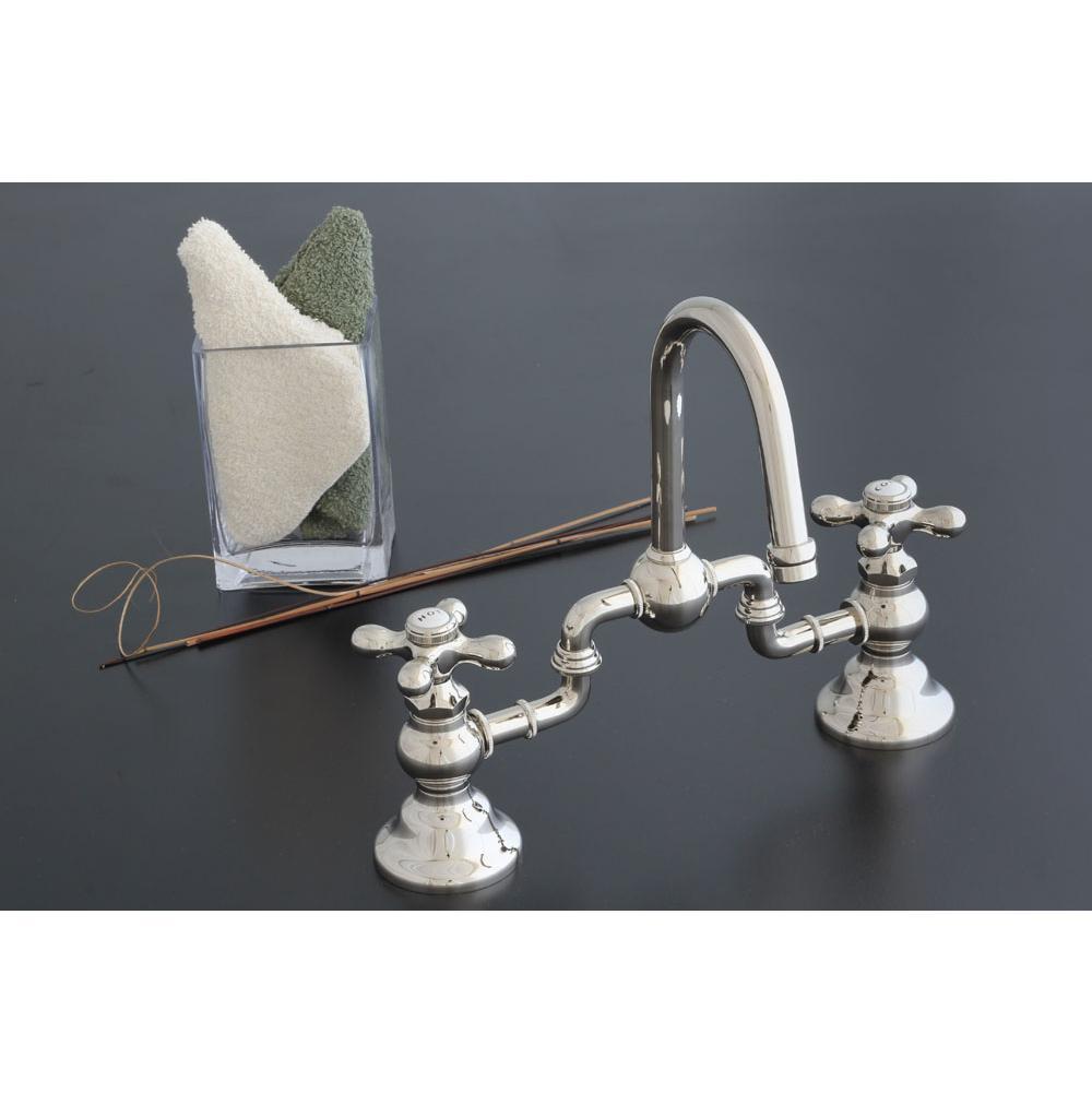 Bridge Bathroom Sink Faucets. Sign Of The Crab Bridge Bathroom Sink Faucets Item P1007 10m