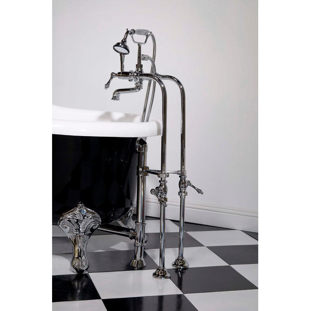 Sign Of The Crab P1025c Chrome Faucet Over Rim Supply Set Kit Includes British Telephone 7 Cen