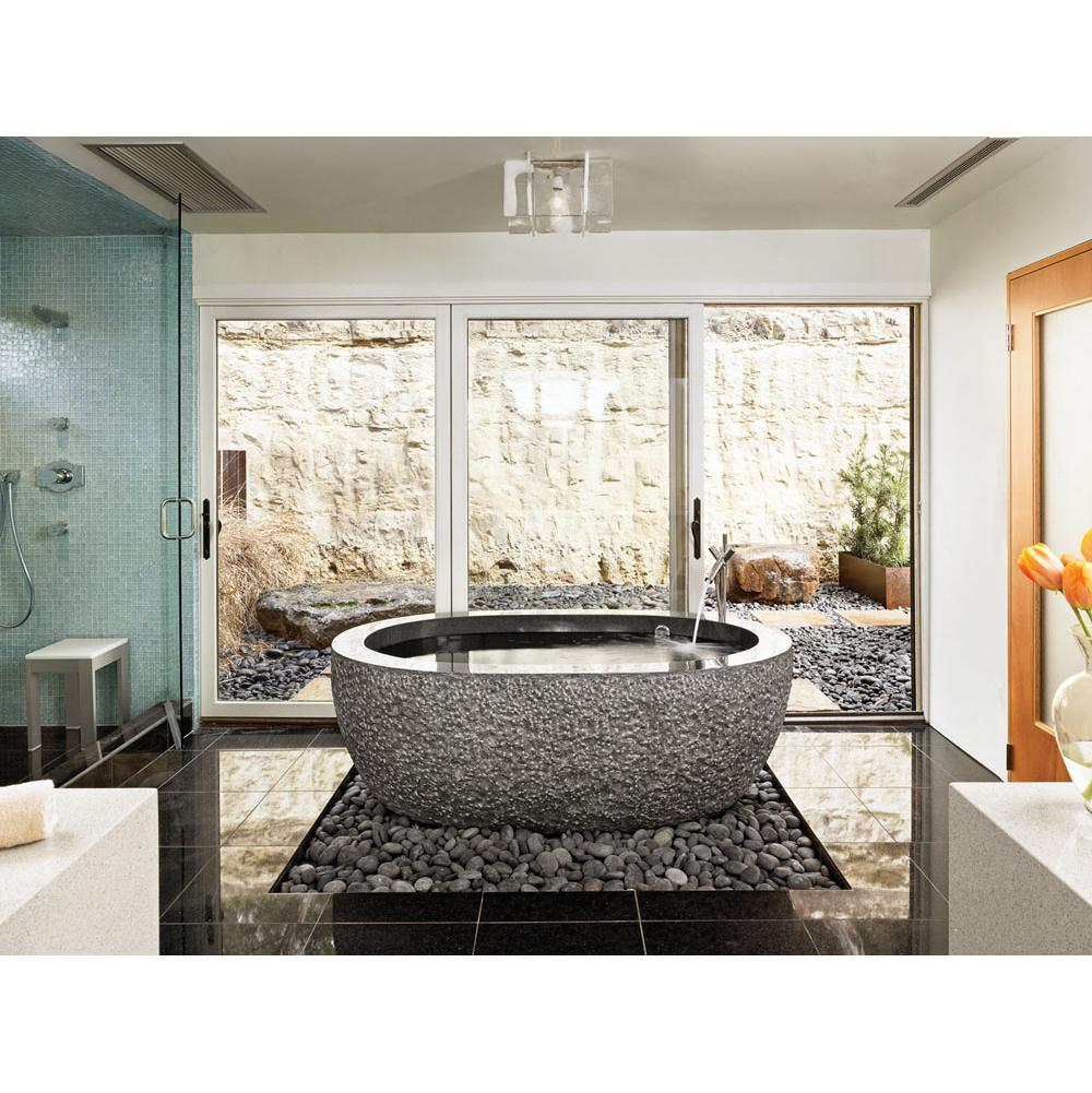 Stone Forest Free Standing Soaking Tubs item C40-60  BL