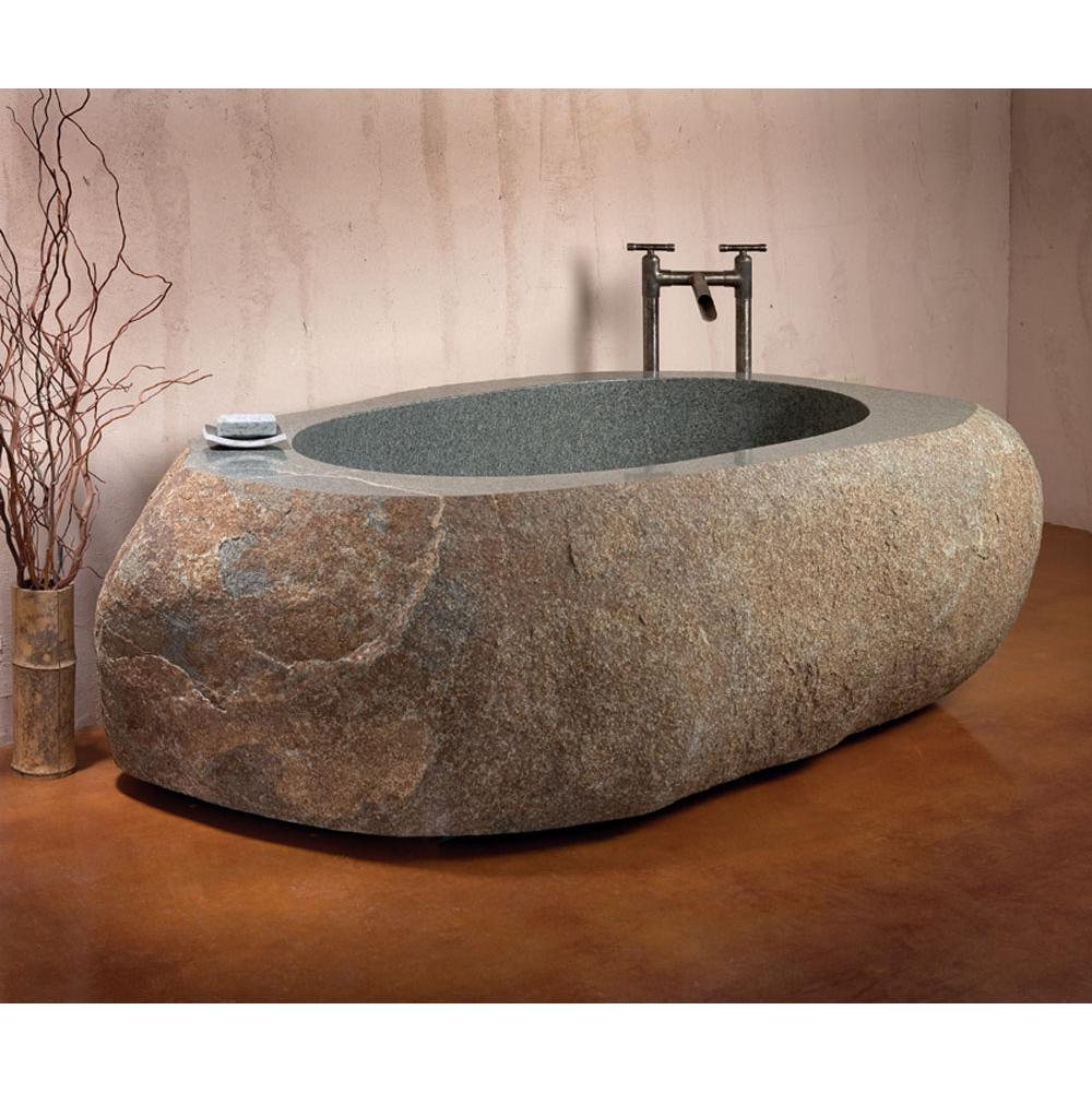 Stone Forest Free Standing Soaking Tubs item C40-NAT