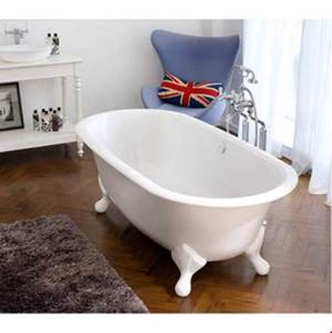 Victoria And Albert Clawfoot Soaking Tubs item RAD-N-SW-OF + FT-RAD-WH