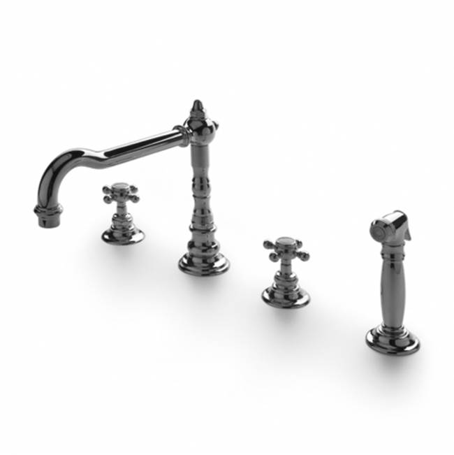 Waterworks Three Hole Kitchen Faucets item 07-83858-93084
