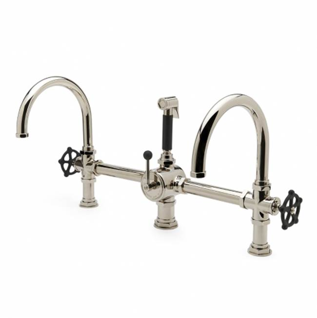 Waterworks Three Hole Kitchen Faucets item 07-69376-10166