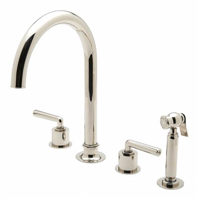 Waterworks Three Hole Kitchen Faucets item 07-66402-50621