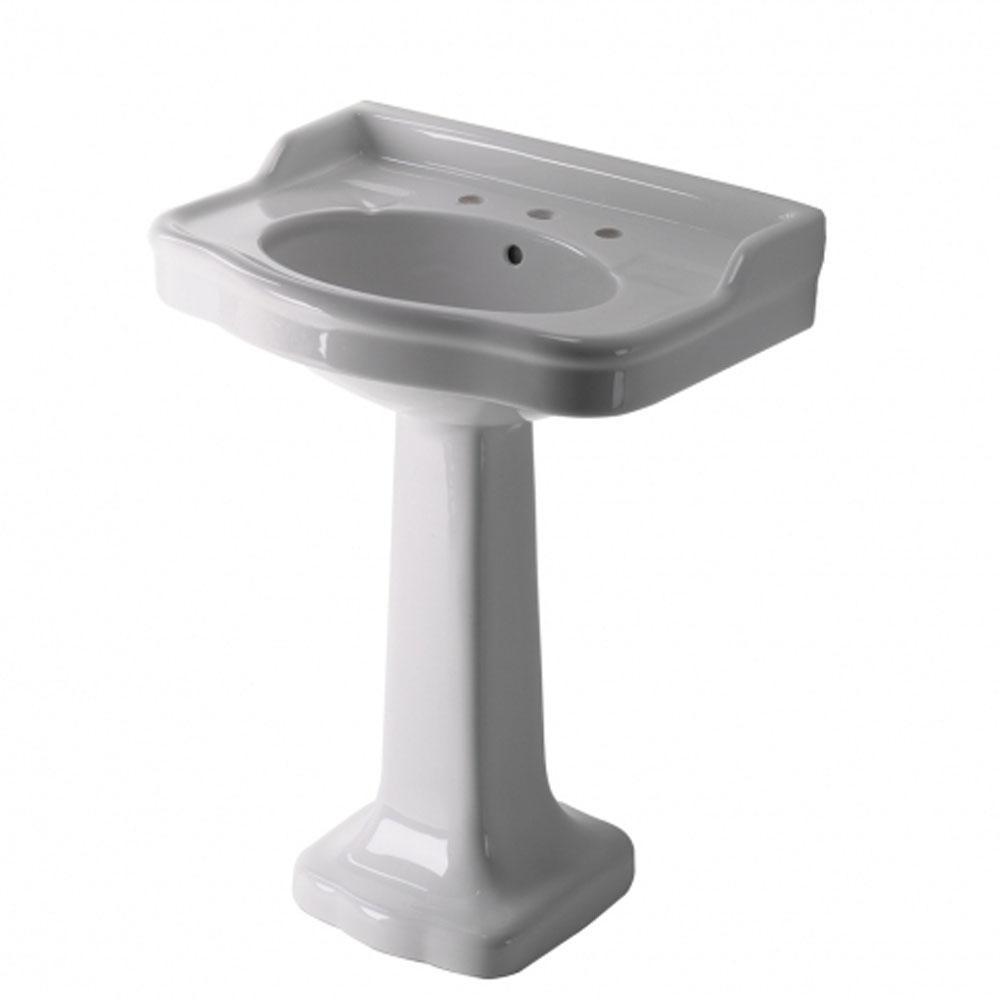 bonelli ii sink to see larger pedestal click bathroom image cast modern stone cfm pd