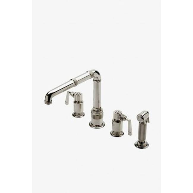 Waterworks Three Hole Kitchen Faucets item 07-30973-88552