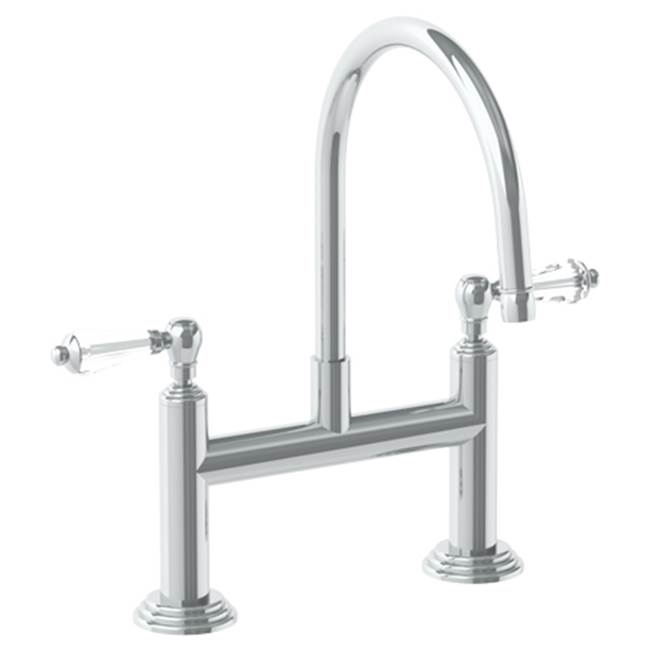 Watermark Bridge Kitchen Faucets item 321-7.52-SWA-UPB