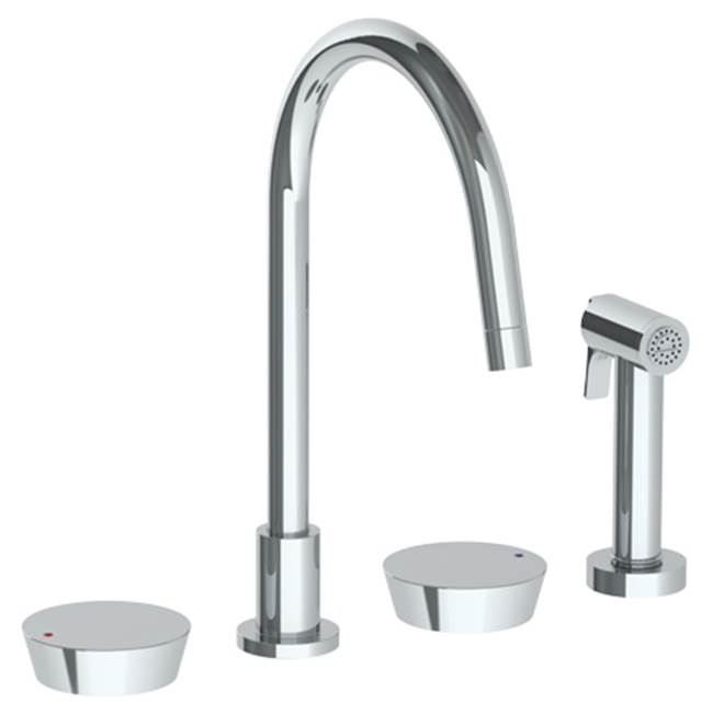 Watermark Deck Mount Kitchen Faucets item 36-7.1G-BL1-MB