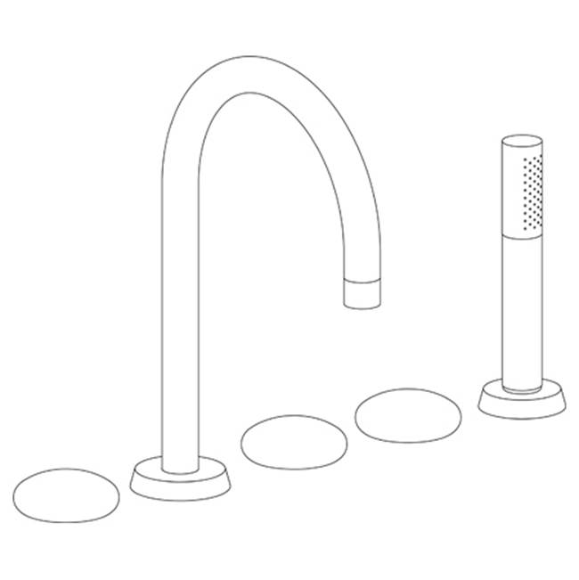 Watermark Deck Mount Tub Fillers item 36-8.1-WM-PC